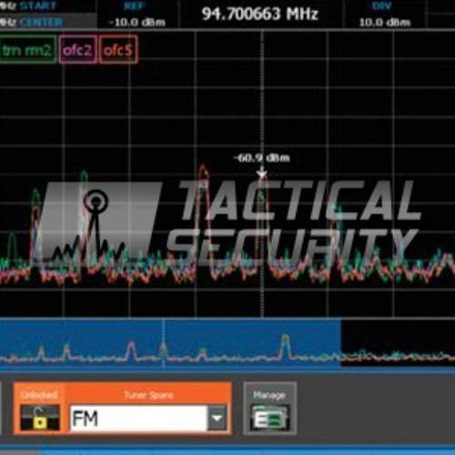 Analizador de Espectro Span - 24 Ghz grafico 2