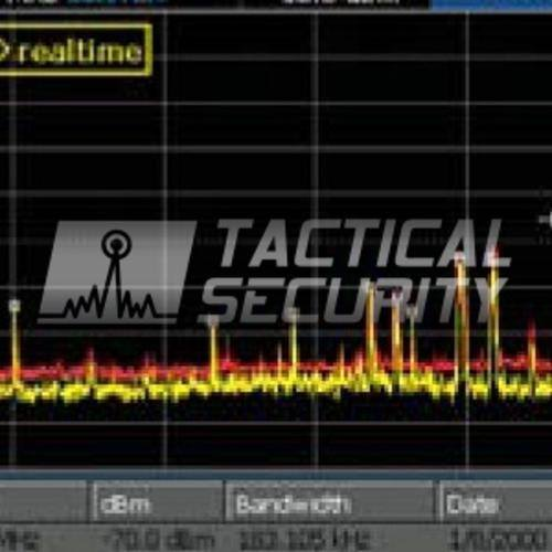 Analizador de Espectro Span - 24 Ghz grafico
