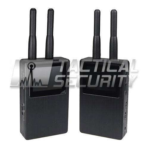 Interceptor de Video con Grabador DVR antenas
