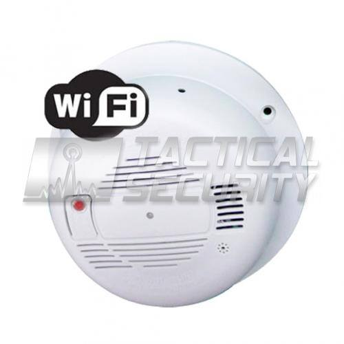 Detector de Humo Audio y Video WIFI Color