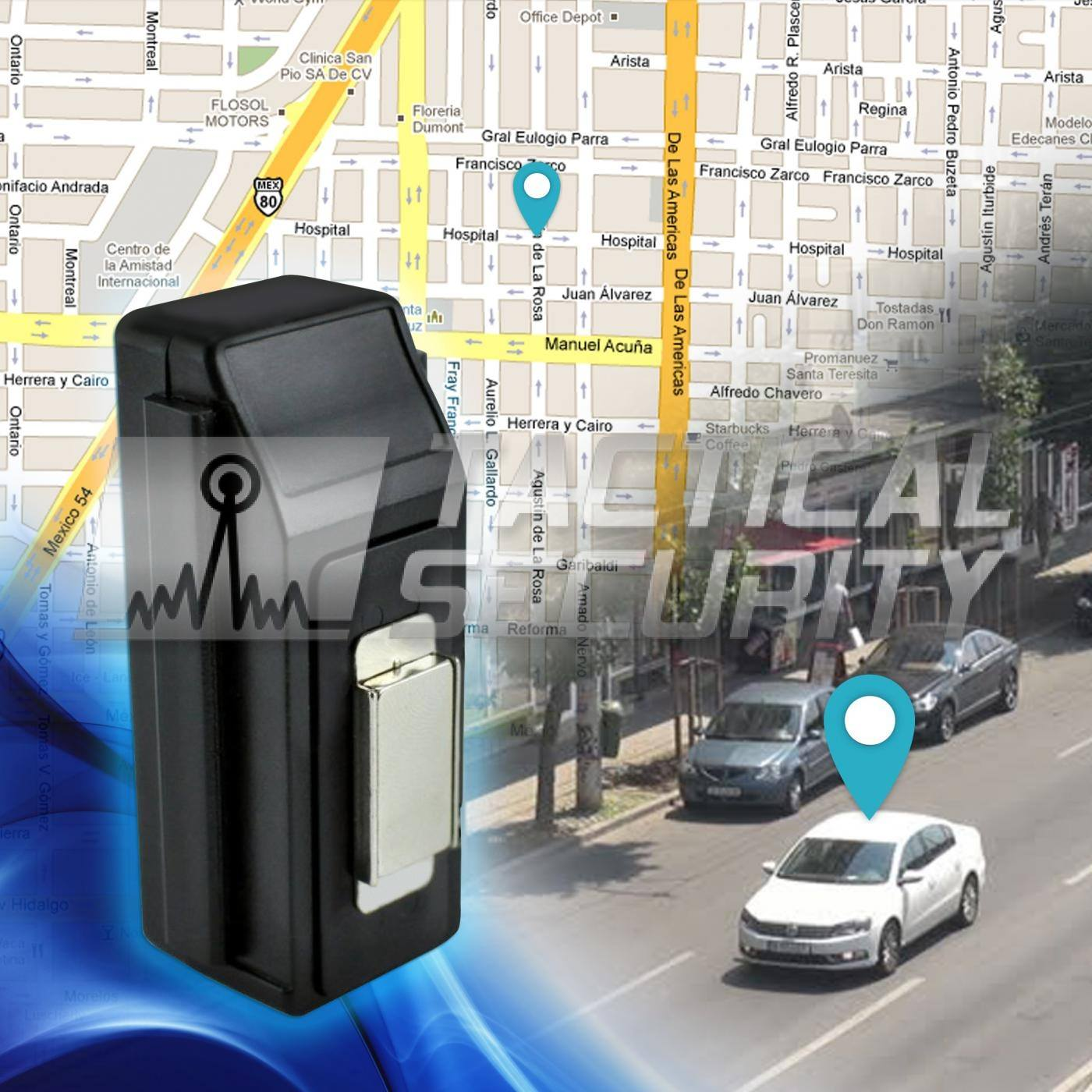 Tracker GPS IP67 Long Life mapas