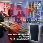 Mini Box Grabador de Video HD uso