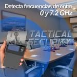 Detector Portable 7.2 GHz Overseer uso