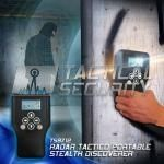 Radar Táctico Portable Stealth Discoverer uso